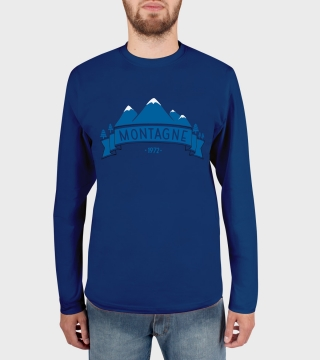 Remera de hombre Mountains